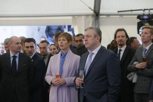 საქართველოს პრემიერ-მინისტრმა და ესტონეთის პრეზიდენტმა გოლფის კომპლექსი გახსნეს