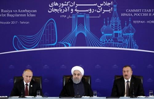 ვლადიმერ პუტინი - რუსეთი ბუნებრივი აირის ექსპორტს აზერბაიჯანის გავლით ირანში გეგმავს