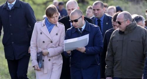 სუს-ის წარმომადგენელმა ესტონეთის პრეზიდენტს საოკუპაციო ხაზთან არსებული ვითარება გააცნო