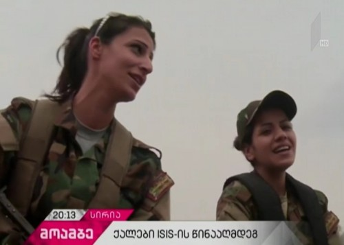 Over 50 female volunteers in Syria join 'National Defense Forces'