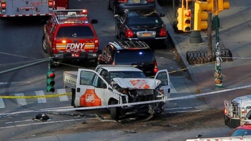 Eight people killed in New York terror attack