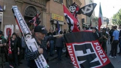 რომში იტალიის ულტრამემარჯვენე პარტიის მხარდამჭერებმა იმიგრაციის წინააღმდეგ საპროტესტო მსვლელობა გამართეს