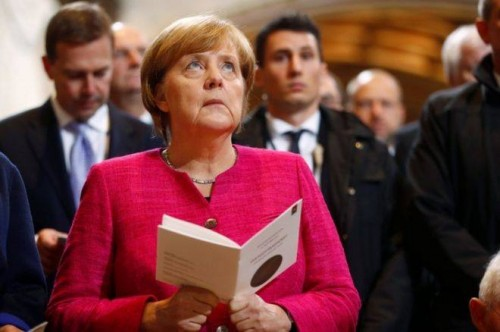 Merkel preaches tolerance, religious freedom at Reformation ceremony