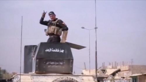 ერაყის ჯარმა ISIS-ის გაძევების შემდეგ ალ ყაიმში სახელმწიფო დროშა აღმართა