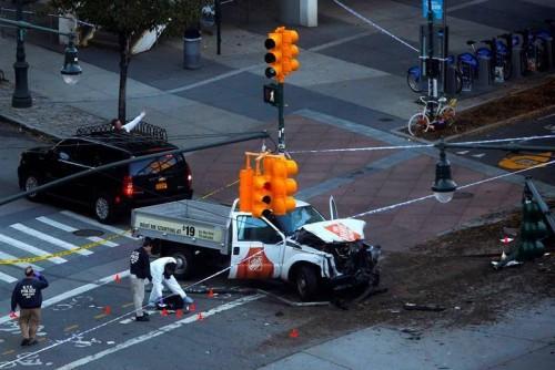 მანჰეტენზე მომხდარ ტერორისტულ აქტზე პასუხისმგებლობა ე.წ. ისლამურმა სახელმწიფომ აიღო