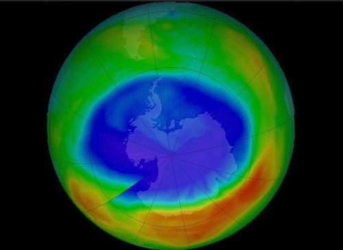 ოზონის ხვრელი პატარავდება - მინიმალური ზომა 1988 წლის შემდეგ