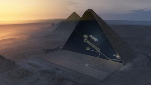 ხეოფსის პირამიდაში უზარმაზარი საიდუმლო სიცარიელე აღმოაჩინეს