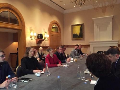 არასამთავრობო სექტორის წარმომადგენლები ესტონეთის პრეზიდენტს შეხვდნენ